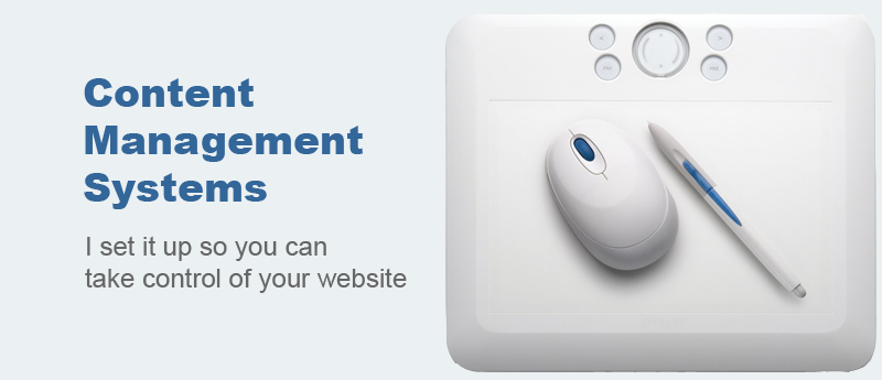 Take control of your website with CMS